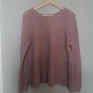 Sonoma Mauve Sweater (M)